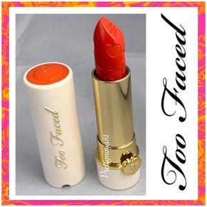 Too Faced Peach Moisture Matte Long Wear Lipstick